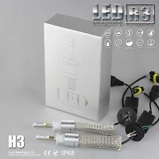 H3 80W 9600LM Car Fanless CREE LED Headlight High led lamp 80W 9600LM 6000K R3