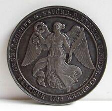 1765 Hamburg Germany 990 Silver STERLING Coin Original Box Artist Medal 1910