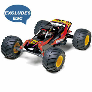 Tamiya-RC-58205-Mad-Bull-2wd-LTD-1-10-Montage-Kit-ohne-ESC