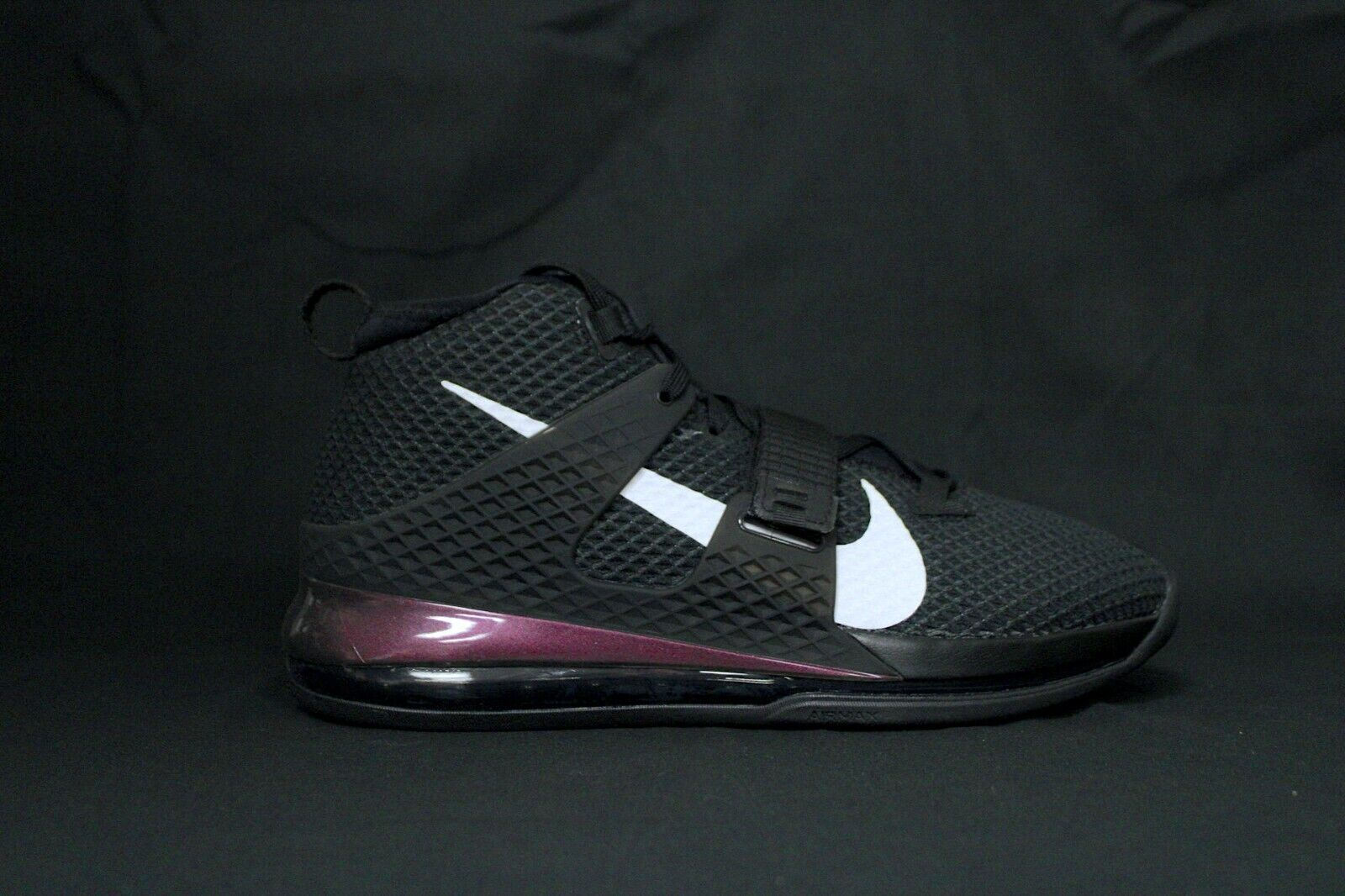 Size 10.5 - Nike Air Force Max 2 Black for sale online   eBay