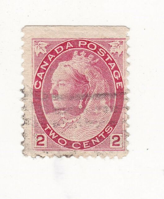 1899 CANADIAN 2 CENT QUEEN VICTORIA NUMERAL ISSUE STAMP