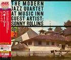 The Modern Jazz Quartet Live at Music Inn With Sonny Rollins 0081227963996 CD