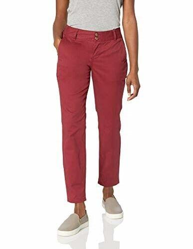Mountain KHAKIS Femme Sadie Skinny Pantalon Chino classique coupe raisin 10 Petite