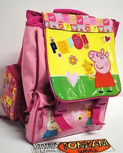Zaino-scuola-ESTENSIBILE-PEPPA-PIG-BACKPACK-SCHOOL-PEPPAPIG