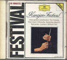 KARAJAN - Festival - Also sprach Zarathustra - CD 1984 NEAR MINT CONDITION