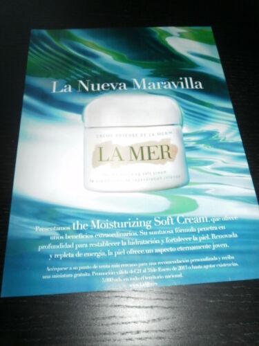 MAKEUP MAQUILLAJE 2013 2788 LA MER AD PUBLICITE ANUNCIO-SPANISH
