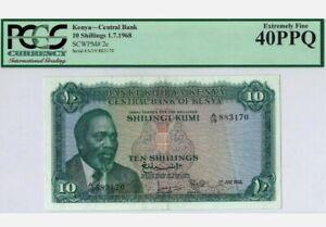 1968-Kenya-10-Shillings-PCGS40-PPQ-P-2c-039-Extremely-Fine-039