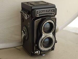 Rolleiflex-T-Zeiss-Tessar-75mm-1-3-5-f-3-5-TLR-Grey-Grigio-Custodia