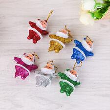 6Pcs/set Santa Claus Baubles Xmas Tree Decorations Ornament Christmas Decor