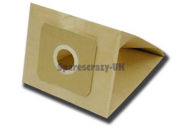 Approprié à Electrolux E62N & U62 Aspirateur Papier Sac Poussière Paquet de 5