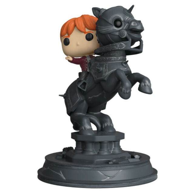 RON WEASLEY RIDDING CHESS PIECE / HARRY POTTER / MOVIE MOMENTS / FIGURINE FUNKO