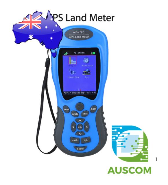 Noyafa NF-198 GPS Land Meter Area Test Devices Display Land Survey 3.7V Battery