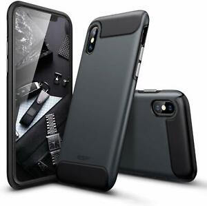 Esr-IPHONE-Xs-Massimo-Robusta-Resistente-Paraurti-Armor-Case-Nero