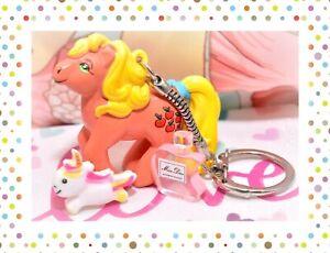 ❤️My Little Pony G1 Merchandise VTG MAIA BORGES Applejack KEYCHAIN Portugal❤️