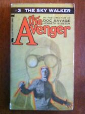 THE AVENGER #3 The Sky Walker Kenneth Robeson 1972 Doc Savage HTF L@@K WOW!!!