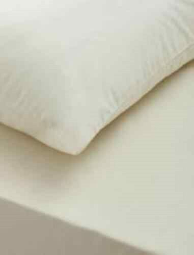 100/% Egyptian Cotton Luxury Fitted Sheets Flat Sheet 200TC Single Double King