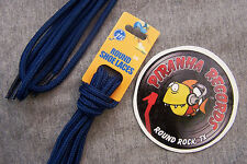 "Navy Blue Thin Round 36"" x (1/8""-3/8"") JN Shoelaces Shoe Strings Piranha"