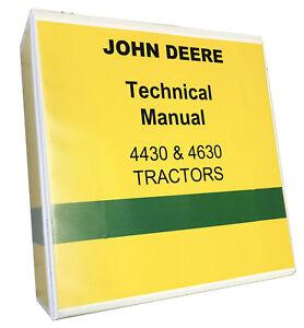 John Deere 4430 Technical Service Manual Shop Manual Tractor 1050
