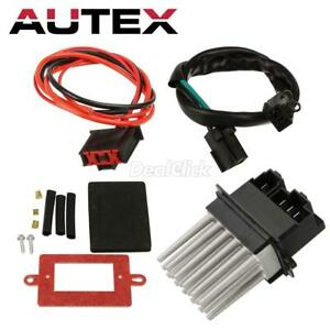 Motorhot HVAC Blower Motor Resistor Regulator ATC W//wire Fit For 1999-2004 Jeep Cherokee Grand