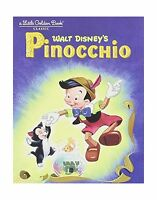 Pinocchio (little Golden Book) Free Shipping
