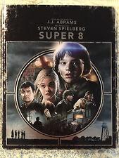 Super 8 NEW Ltd Ed SteelBook Steel Book Blu-Ray Disc/Case only- NO Digital Copy