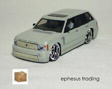 Hot Wheels dropstars Land Range Rover SUV V8 Silver Pearl w/Gray G7066 1/50 MINT