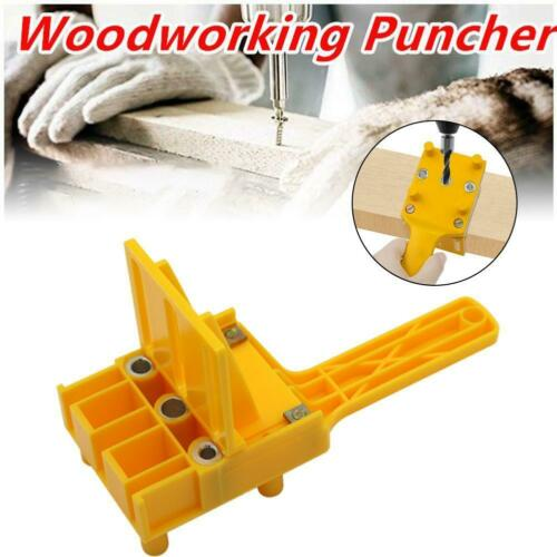 Handheld Woodworking Dowel Set Dowelling Drill Straight Holes Locator Guide Tool