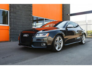 2009 Audi S5 RED LEATHER, 2dr Cpe Auto