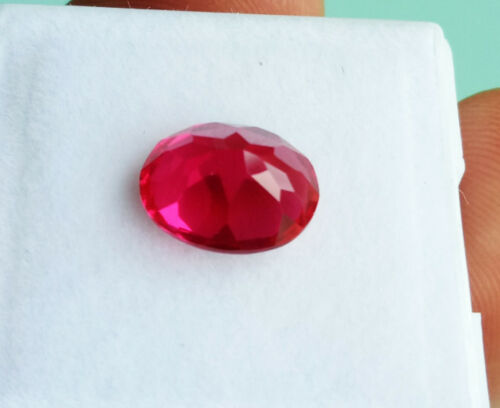 Excellent Redish Pink Ruby Great Color 3.70cts 10x8mm Oval Cut