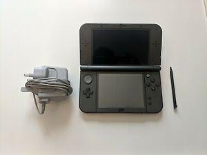 Details about Nintendo New 3DS XL Metallic Black (Luma3DS cfw + 64gb SD  card + 10 games)