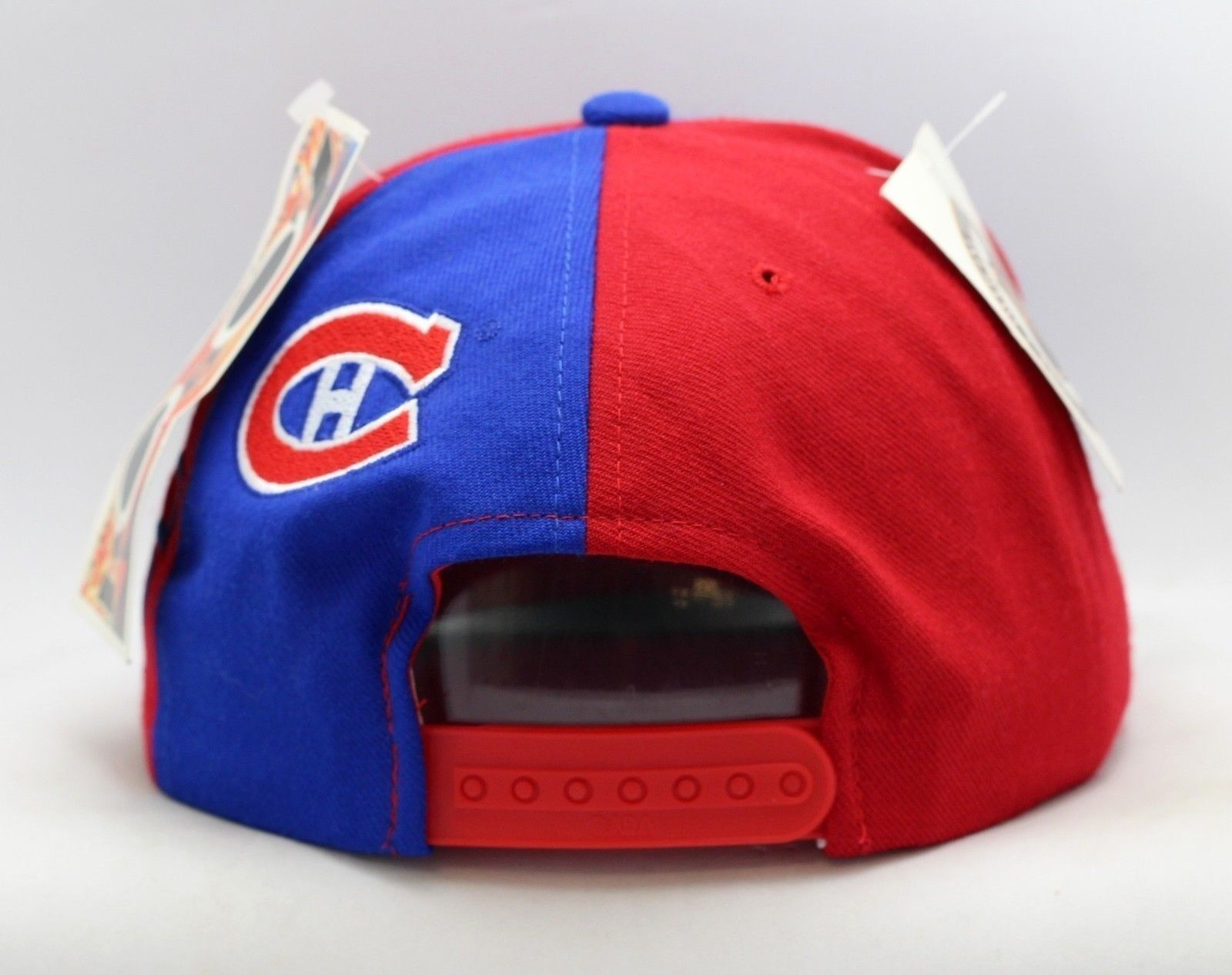 Montreal Canadiens American Needle Split Snapback-MC1653 Front Logo Script Snapback-MC1653 Split 6bf3df