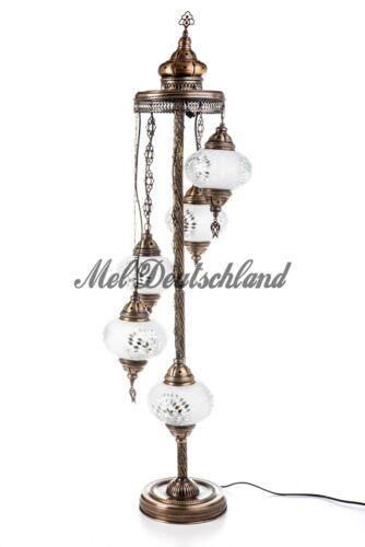 Stehlampe Bodenlampe Mosaik Orientalische Marokko Handgefertigte  XXL Deko-Lampe