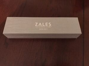 Zales the Diamond Store Silver Braceletnecklace Jewelry Box NEW eBay