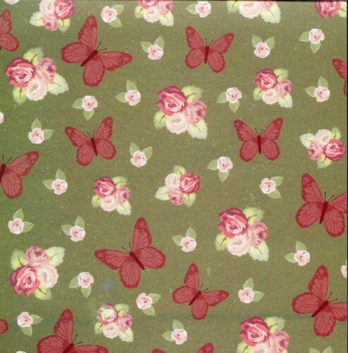 simplemente creativo Notas florales 6 X 6 Cojín de papel de 30 Hojas Dovecraft 2 de cada uno