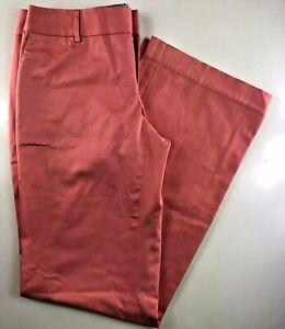 Vineyard-Vines-Orange-Chino-Straight-Leg-Women-039-s-Pants-Size-6-29x32