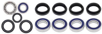ALL BALLS All Bearing Kit for Front /& Rear Wheels Yamaha YFM600 Grizzly 99-01