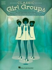 Classic Girl Groups Sheet Music Piano Vocal Guitar SongBook NEW 000121392