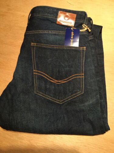 Mens Jeans Brand New Olive Jeans London 36W 34L
