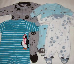 Carter S Baby Boy 1pc Preemie Newborn Blanket Sleeper