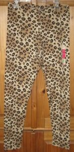 7cdcb441a83cd Image is loading Faded-Glory-Girls-Pants-Leggings-Print-Animal-Brown-