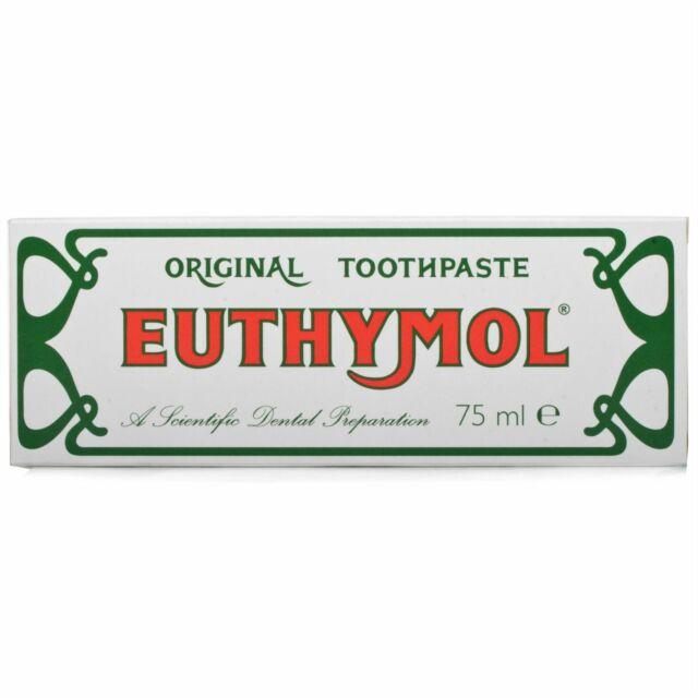 Euthymol Original Traditional Toothpaste 75ml  1 2 3 6 Packs