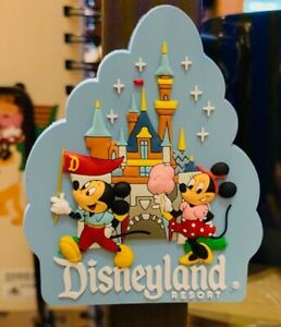 Disneyland-Resort-Exclusive-Mickey-amp-Minnie-Mouse-Park-Life-Magnet-New