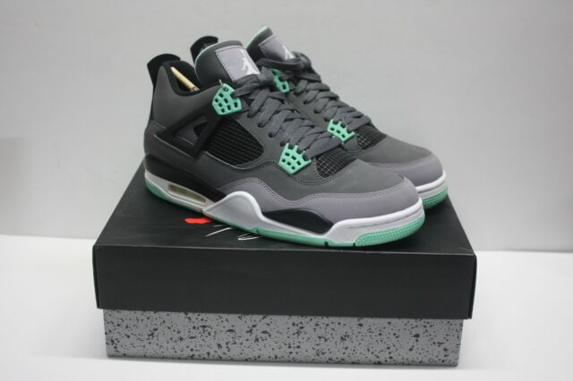 c940c94c3047c7 Nike Air Retro 4 IV Jordan Dark Grey Glow Cement 308497-033 Mens ...
