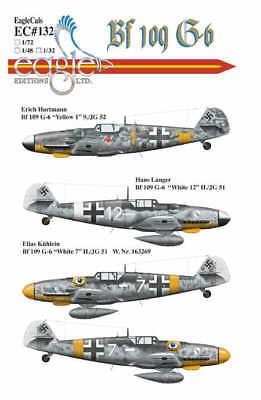 Eagle Cal 1/32 Nuovo Erich Hartmann Messerschmitt Bf 109g-6 #32132