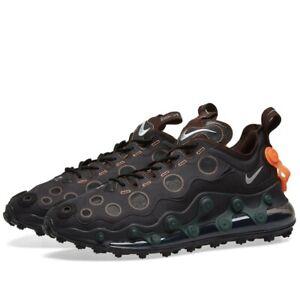 Nike-AIR-MAX-720-ISPA-CD2182-001-Nero-riflettono-argento-UK-8-9-10