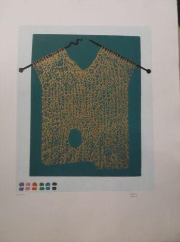 """gravure signée /""""Bonjour Max Ernst/"""" P1453 Haïm KERN 1930"""