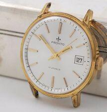 Pronto Armbanduhr Handaufzug ETA 2409 watch swiss made