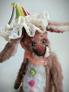 Teddy-Rabbit-Richi-OOAK-Artist-Teddy-by-Voitenko-Svitlana