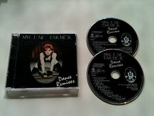 """Mylene Farmer - DANCE REMIXES - Double CD © 1992:12""""Mixes:Sans Contrefacon.."""