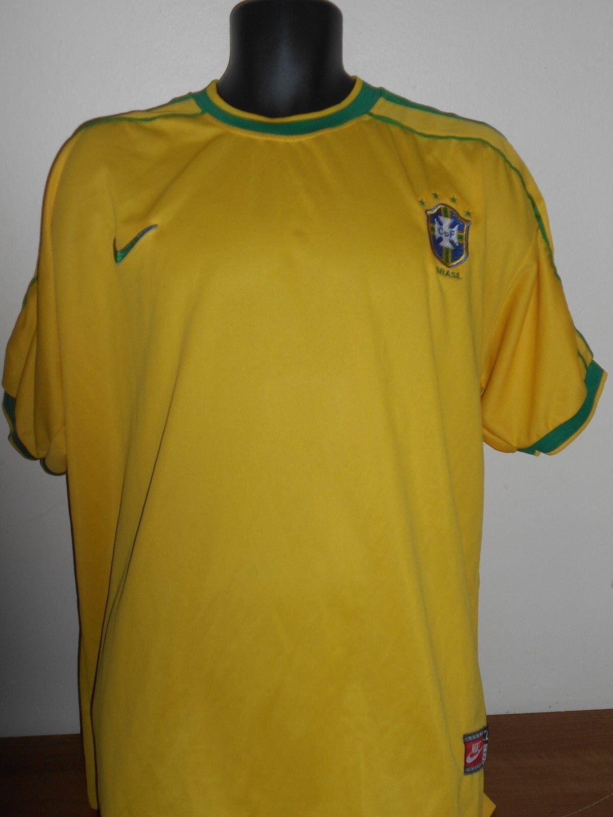 Camisa de inicio  de Brasil (1998 2000) XL para hombres  778  producto de calidad